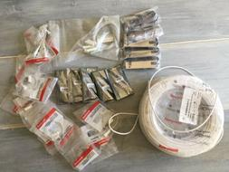 security system misc lot of items new
