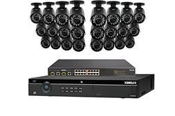Lorex 4K 32 Channel 4MP Security System NR9326 6TB HDD 24 Ca