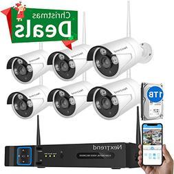 Security Camera System Wireless, NexTrend 8CH Camera Securi