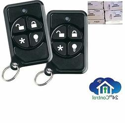 SET of 2: GE Security Remote Fob 600-1064-95R BRAND NEW Simo