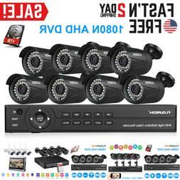 Smart Home Security IP Camera System Kit Surveillance CCTV D