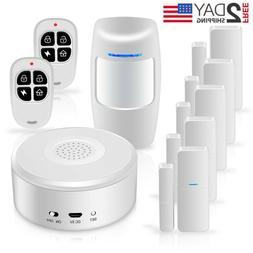 Smart Security System Wifi Alarm Kit W APP Push & Calling Al