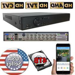 Sikker Standalone 16 Ch Channel H.264 DVR Home Security reco