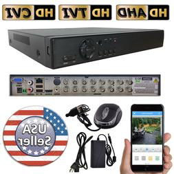 Sikker Standalone 16 Ch Channel H.264 Full 960H CCTV DVR Sec