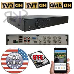 Sikker 8 CH channel DVR Recorder Security System 720P 1080P