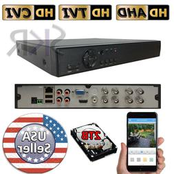Sikker Standalone 8CH channel 1080P HDMI DVR Security System