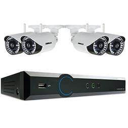 Lorex 4 Channel 720p Surveillance System, 1TB HDD and 4 Weat