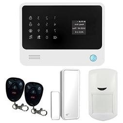 Golden Security Touch Screen Keypad OLED Display WIFI GSM GP