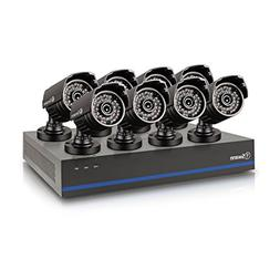 Swann TVI DVR Security System - 8 1080p Cameras, 2TB HD, and