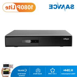 SANNCE HD 8CH 1080P HDMI CCTV DVR TVI Video Recorder for Sec