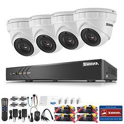 ANNKE HD-TVI 3MP License Plate Security Camera System, 8CH 5