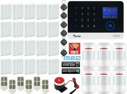 U65 WiFi APP GSM Wireless Home/Office Security Alarm Burglar