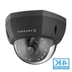 Amcrest 4K Outdoor POE IP Camera, UltraHD 8MP Security Camer