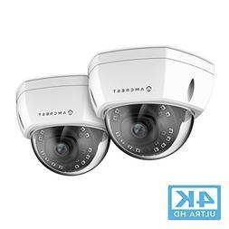 2-Pack Amcrest UltraHD 4K  Dome POE IP Camera, 3840x2160, 98