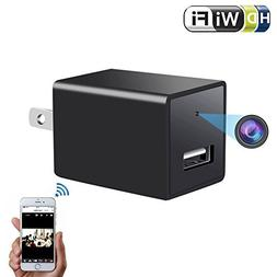 1080P Wifi Charger Camera - ENKLOV HD P2P Wireless Wifi Vide