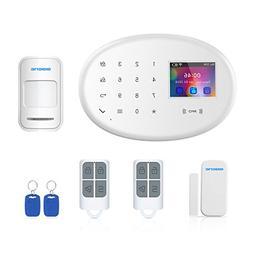 BIBENE WIFI GSM GPRS 2.4Ghz Home Security Alarm System DIY K