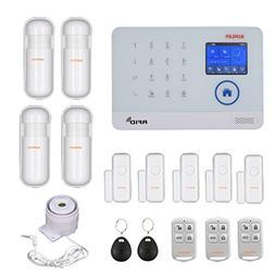 WIFI GSM Home Burglar Security Alarm System Wireless Kits AP