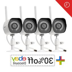 Zmodo 720p 4 Home Outdoor IR Camera Security System IR Night
