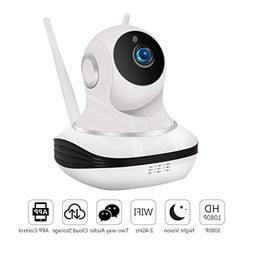 WiFi IP Camera Wireless Cloud Storage IP Camera with Pan/Til