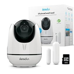 Rubetek WiFi Pan Tilt Home HD Security Camera-Indoor Wireles