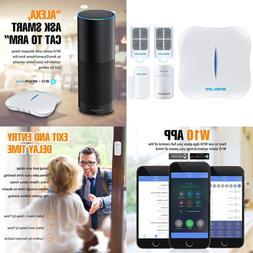 ENKLOV Wifi/PSTN DIY Home Security Alarm System Kit Door/Win