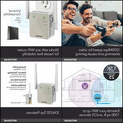 NETGEAR WiFi Range Extender AC750 Dual Band |WiFi coverage u