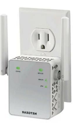NETGEAR WiFi Range Extender AC750 EX3700 - 100NAS Coverage U