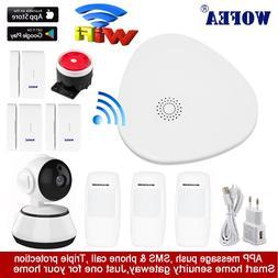 wofea WIFI RF Gataway Home <font><b>Security</b></font> Alar