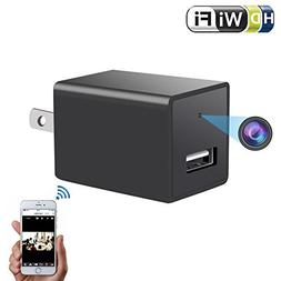 Wifi Wall Charger Spy Camera - 1080P HD P2P Wireless Wifi Vi
