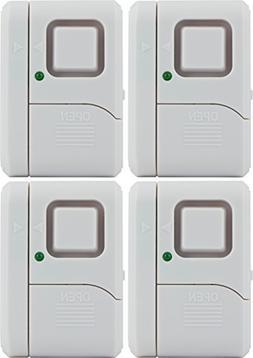 GE Window/Door Alarm, 4pk