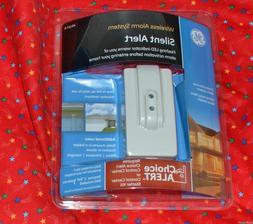 GE Wireless Alarm System SILENT ALARM Sensor Security Safety
