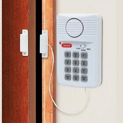 Wireless Garage Motion Sensor Alarm Infrared Alert Secure Sy