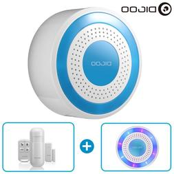 Digoo Wireless Home Security Alarm Standalone Siren Host PIR