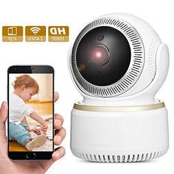 Wireless Security Camera, GBTIGER Wireless 1080P IP Camera,