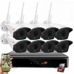 CORSEE Wireless Security Camera System 8CH 1080P H.265 Wirel