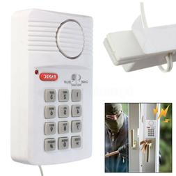 Wireless Security Keypad Door Sensor Alarm System Panic Butt