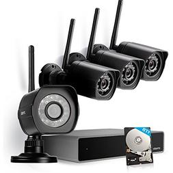 Zmodo 1080p Wireless Security Camera System - 8CH HDMI NVR w