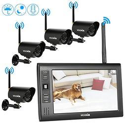 "KKmoon Wireless 2.4GHz 7"" TFT Digital LCD Display Monitor 4"
