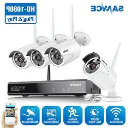 1080p wireless wifi network 8ch nvr in