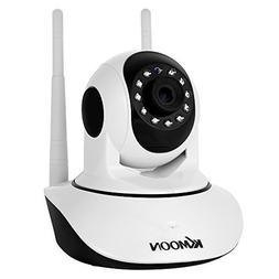 KKmoon 720P Wireless WIFI IP Camera Pan Tilt HD 1.0MP 1/4 In