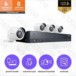 Samsung Wisenet SDH-B84040BF 8 Channel 4 MP Super HD DVR Vid