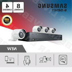 Samsung Wisenet SDH-B84040BF 8 Channel 4 MP Super HD DVR Vid