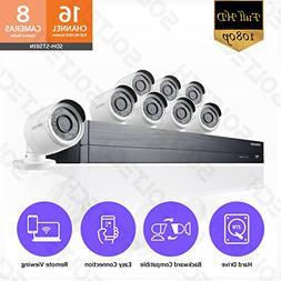 Samsung Wisenet SDH-ST581 16 Channel 1080p Full HD DVR Video