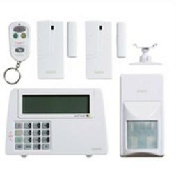 Security Equipment Corp Wp-100 Premium White Wireless Home A