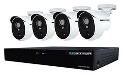 Night Owl XHD501-44P-B 4 Channel 5MP Extreme HD Video Securi