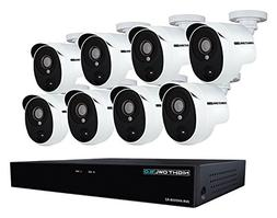 Night Owl XHD502-88P-B 8 Channel 5MP Extreme HD Video Securi